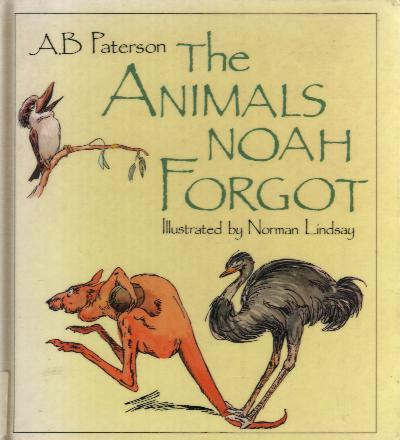 Frogs in Chorus From The Animals Noah Forgot by Paterson, The Animals Noah Forgot by Paterson, poetry book compilation: The Animals Noah Forgot by Paterson, Frogs in Chorus by Banjo Paterson, Frogs in Chorus by Banjo Paterson is a beautiful poem for your kids. It is part of a poetry compilation in the classic The Animals Noah book, Poetry book cover of The Animals Noah Forgot by A.B. Paterson